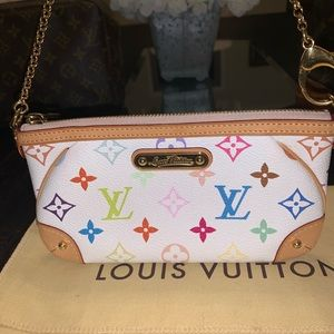 Louis Vuitton Murakami Milla MM Pochette in EUC
